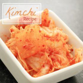 Recipe: Quick kimchi