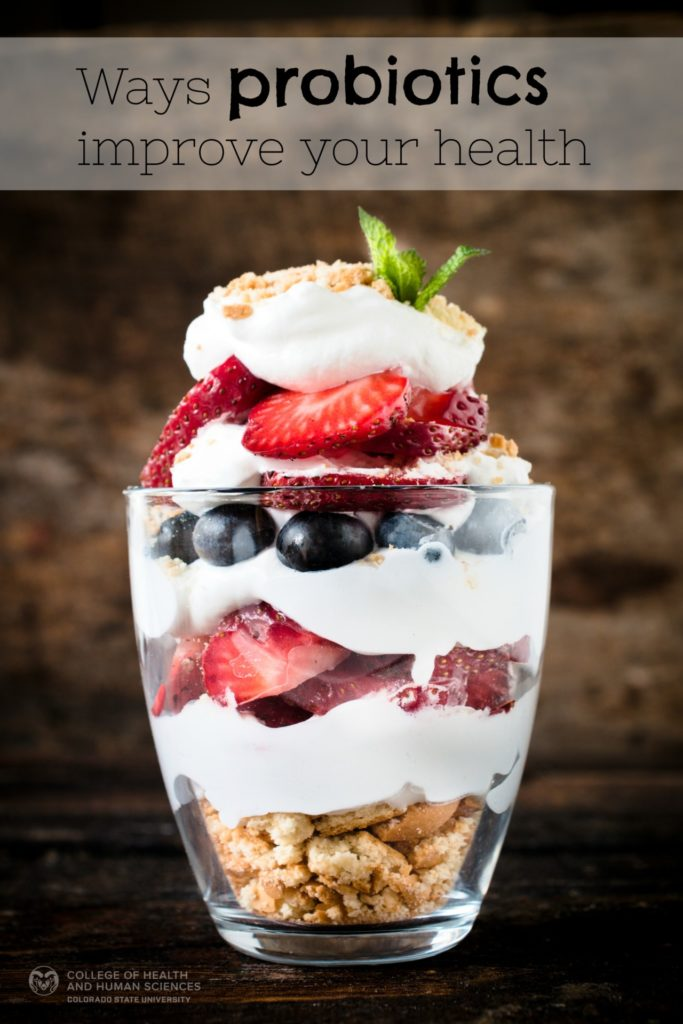 Take a look at all the health benefits of eating probiotics.