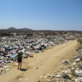 Waste management team conducts initial assessment of solid waste management in Todos Santos