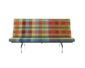 Colorado plaid sofa