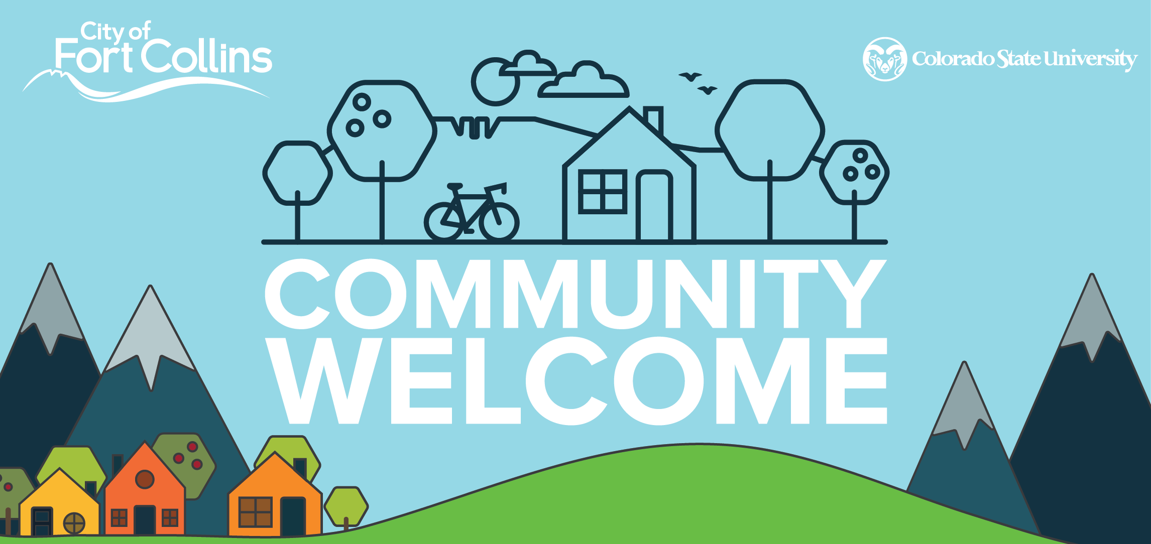 Community Welcome graphic