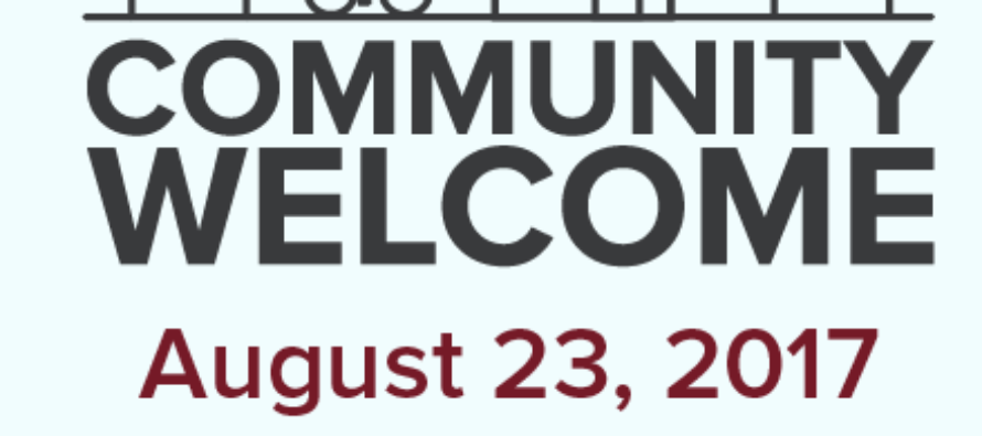 Volunteers needed for Community Welcome 2017