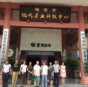 CSU Engagement visits Sichuan Province Rural Demonstration Center.