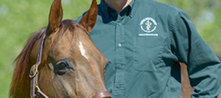 Dr. Patrick McCue:  Scientist, clinician, educator honored for lifetime work in equine reproduction