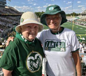 Norma Andersen and Lorraine Shuler