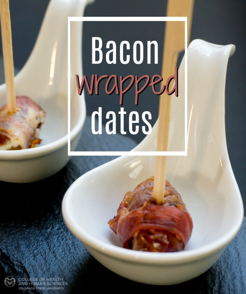 Bacon wrapped dates are the perfect appetizer for a summer barbecue!