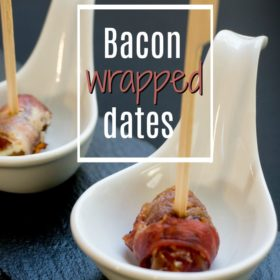 Recipe: Bacon wrapped dates