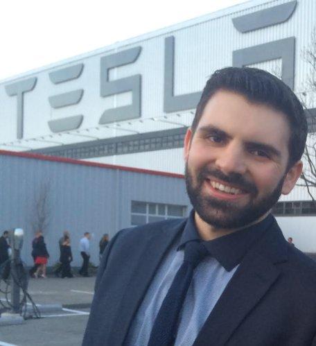 Photo of Rob Paulsen, environmental health master's graduate