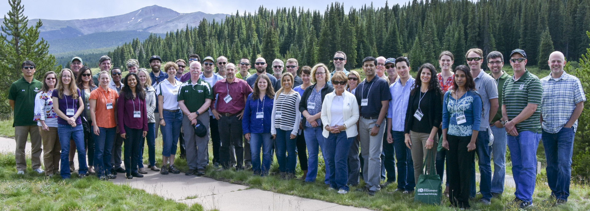 2017 CSU Ram Faculty Engagement Tour participants