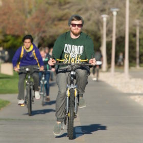 On campus on Saturday? What you need to know if you're coming by car, bike or bus