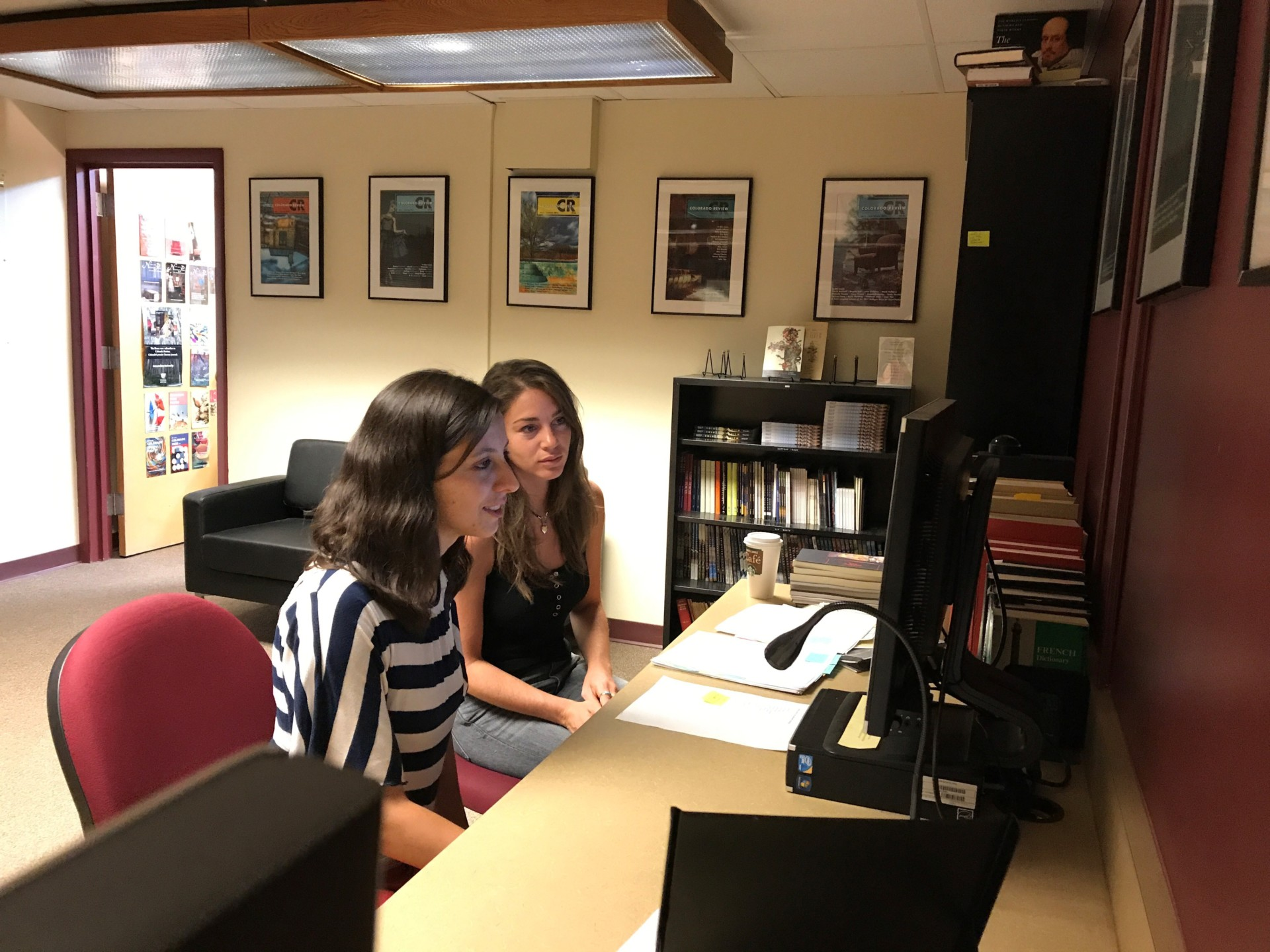 Center serves as hands-on publishing laboratory for students