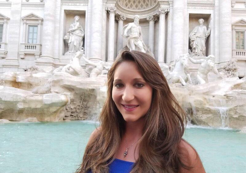 Malinda DeBell in Italy