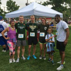 Triathlon Team runs 5K with Denver community