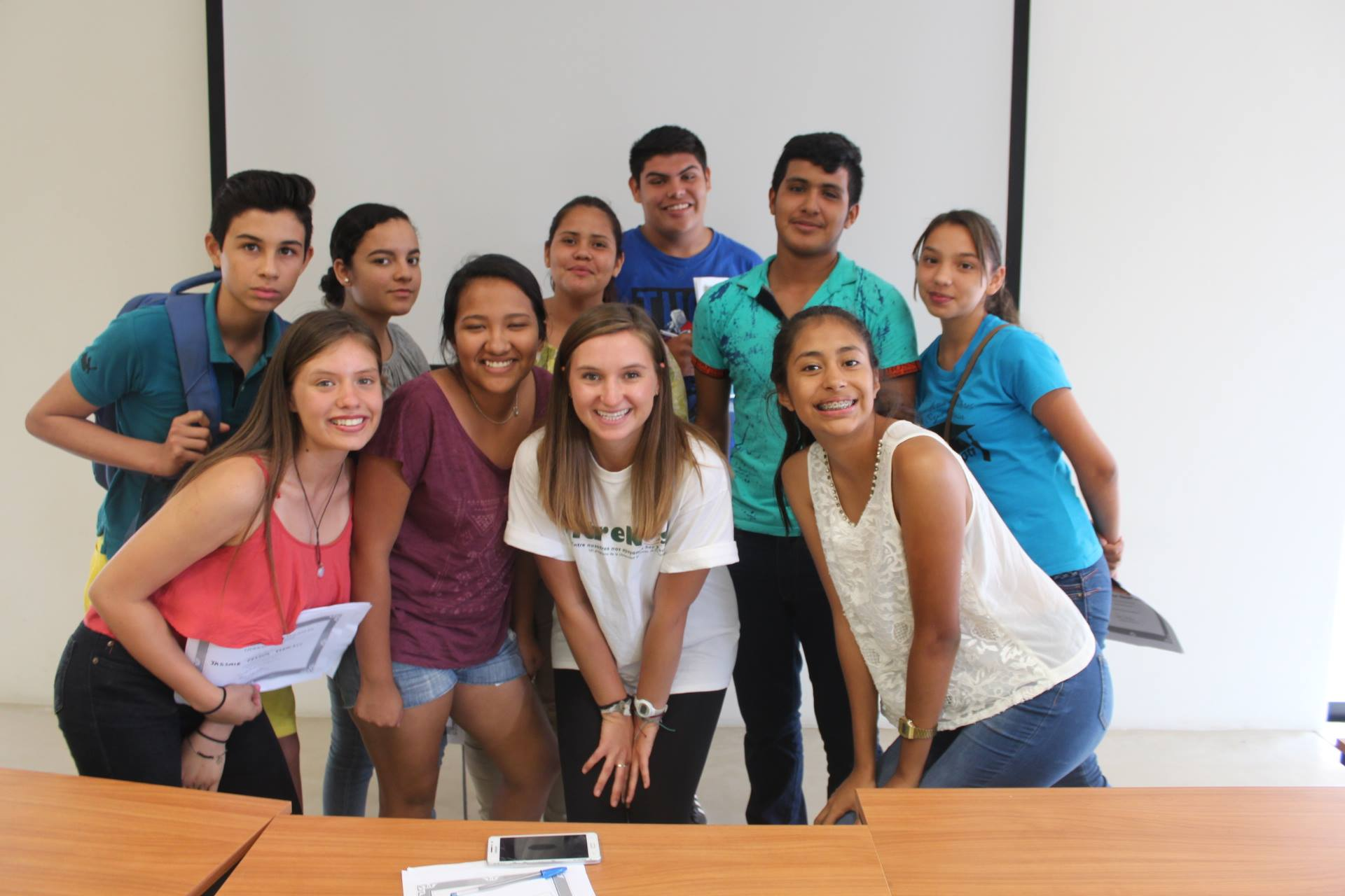 outh attending a leadership workshop at CSU's Todos Santos center