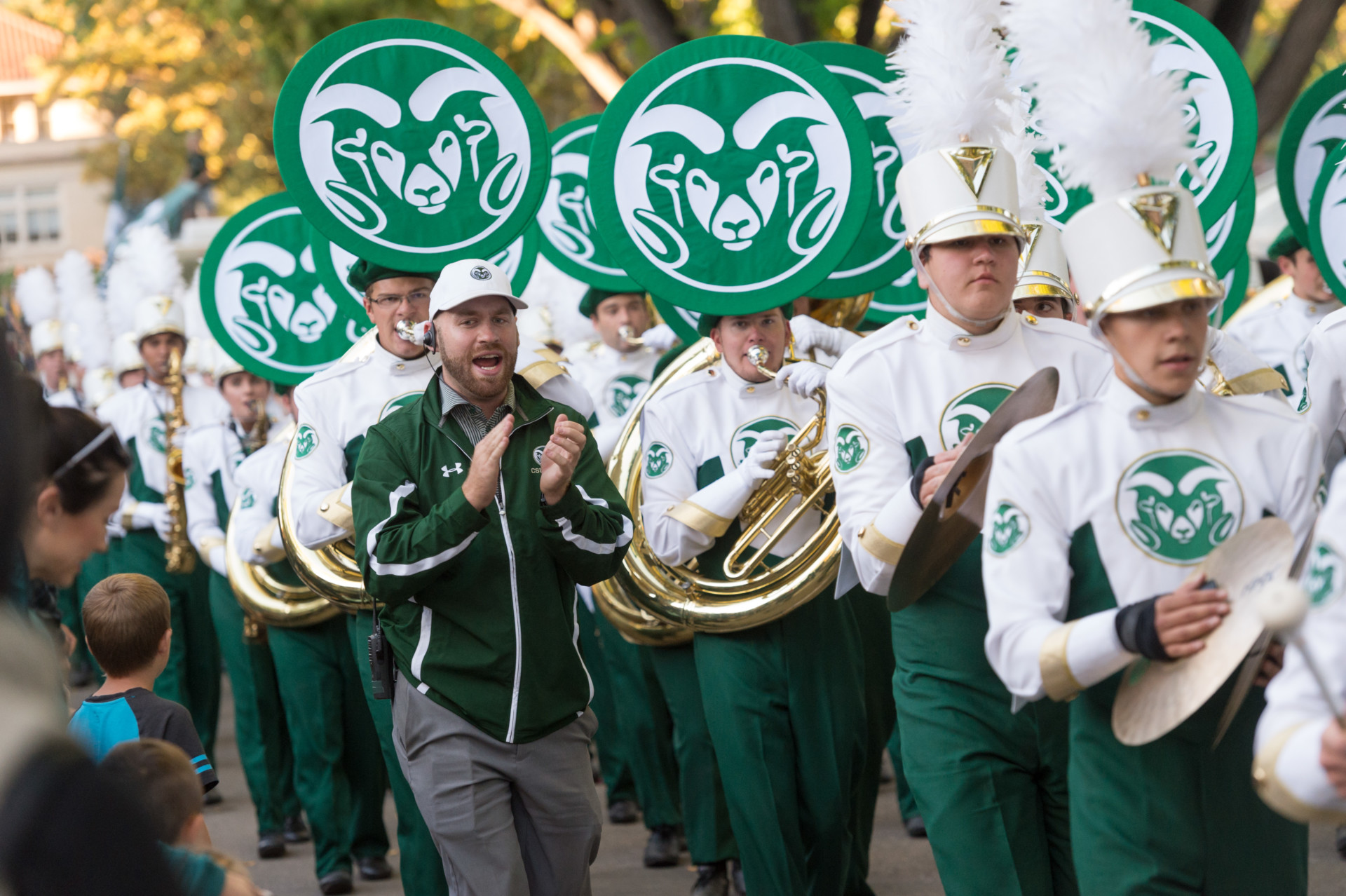CSU homecoming parade 2016