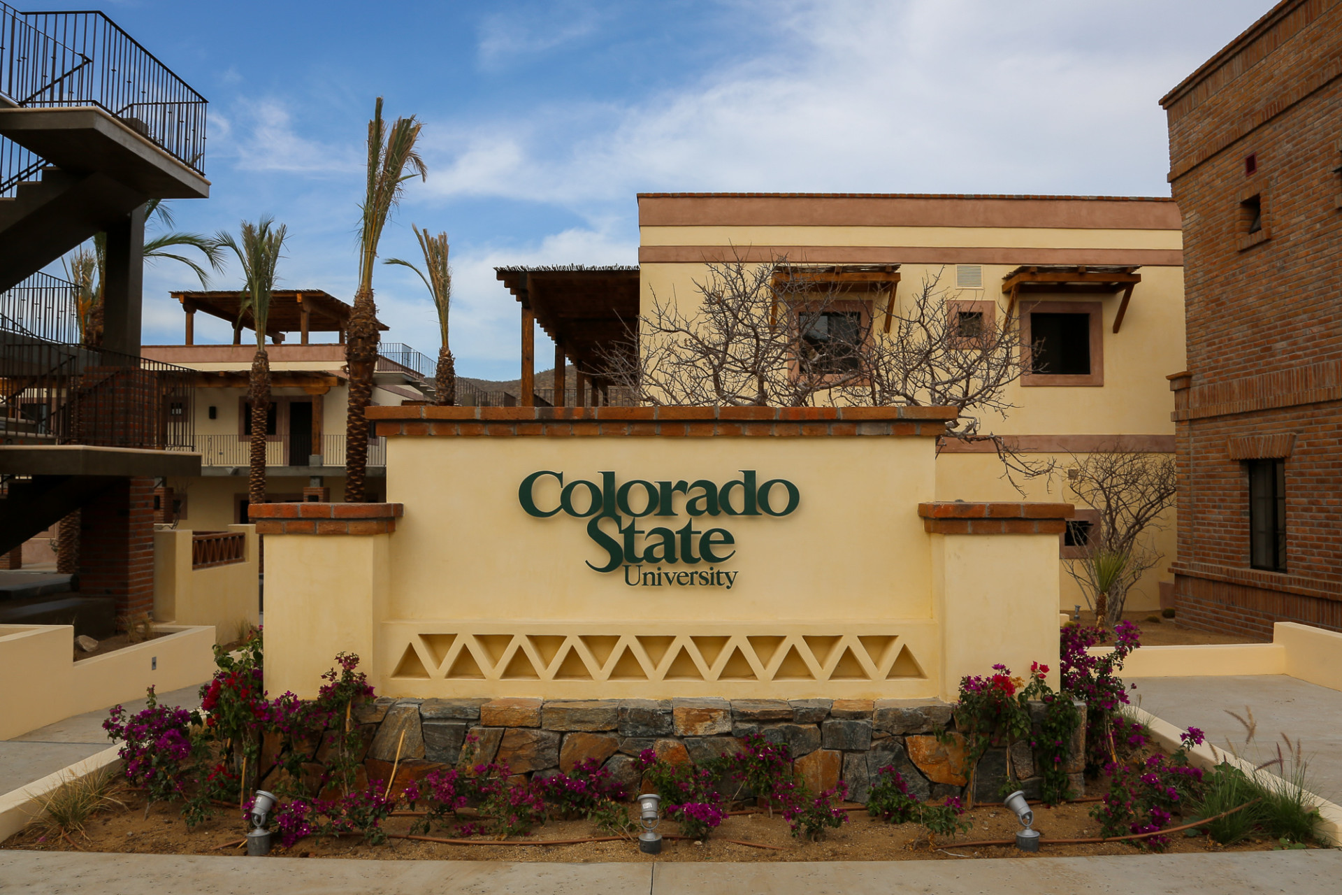 CSU sign at Todos Santos Center