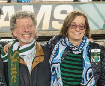 Ed Warner and Jackie Erickson