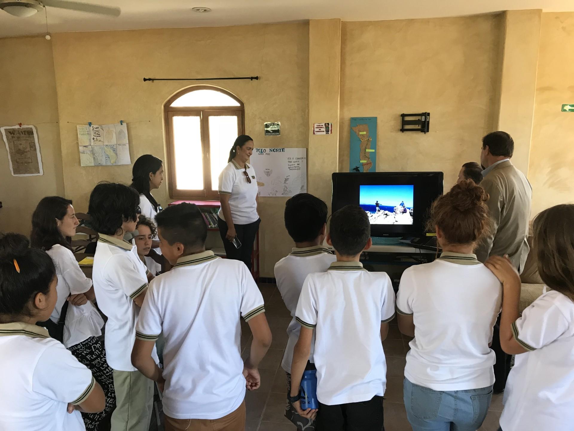 Students at Todos Santos