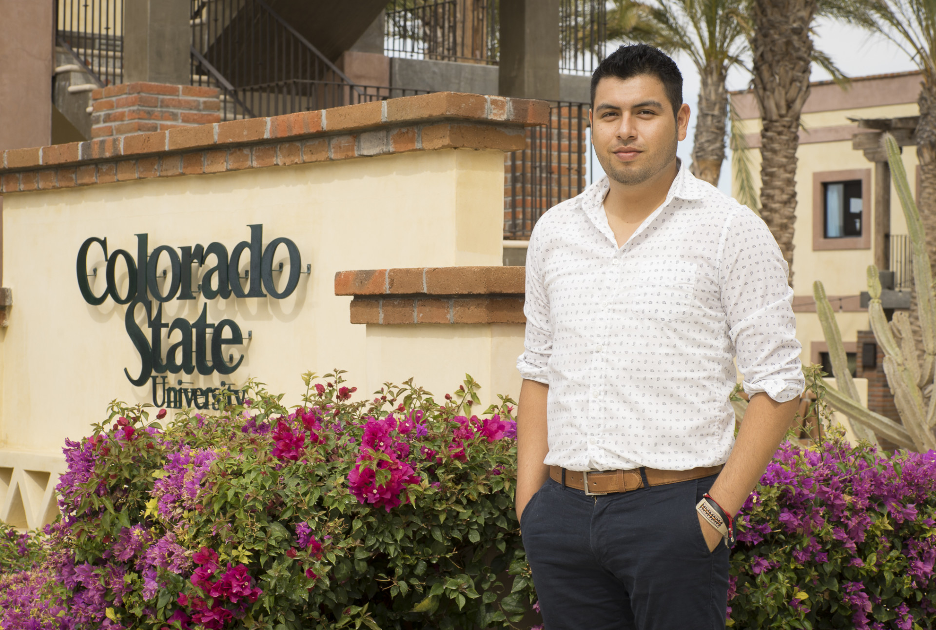 Roberto Octavio Gamez Rojas at CSU Todos Santos Center