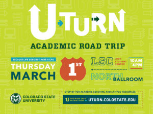 U-Turn event flier.