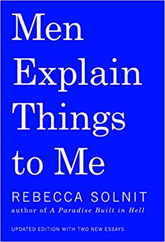 Men Explain Things to Me book cover