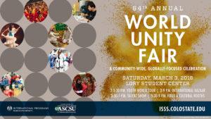 Unity Fair flyer