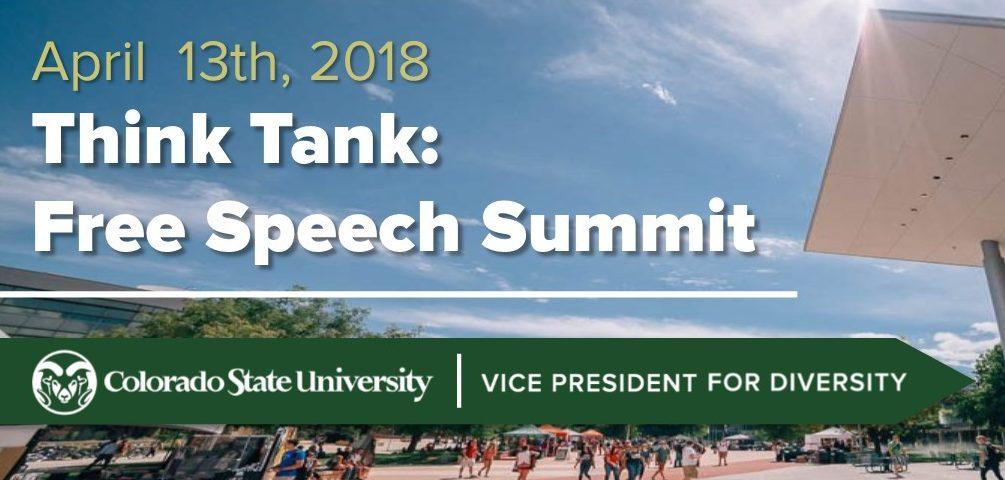 Free Speech Summit poster