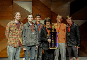 Highschoolers who won Knowledge Bowl
