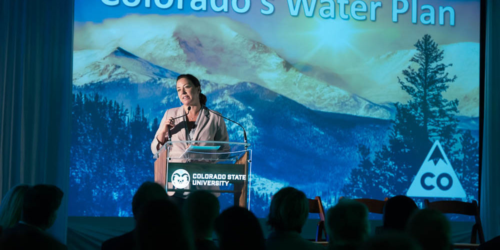 Becky Mitchell at Water in the West Symposium