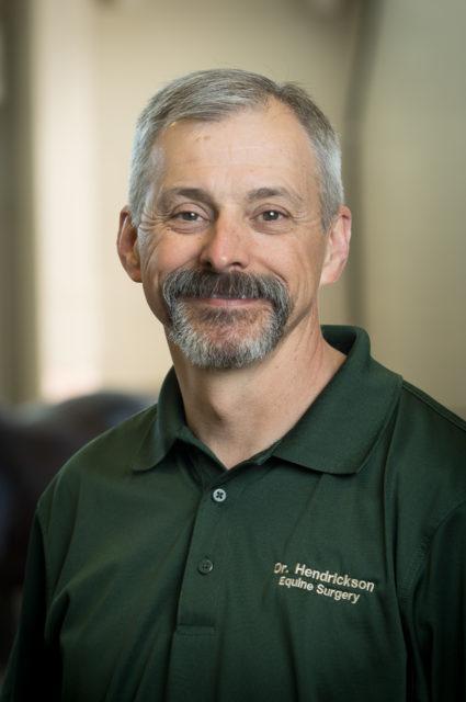 Dean Hendrickson, DVM, portrait