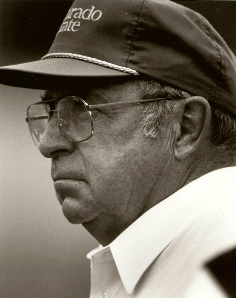 Coach Earle Bruce