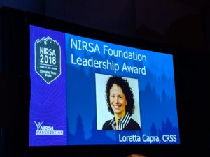 Loretta Capra at NIRSA