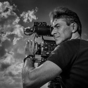 Murat Eyuboglu with camera