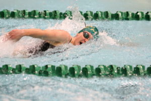 CSU swimmer Colleen Olson