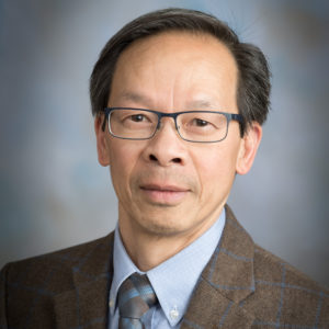 Head shot of Scholarship P. Shing Ho, professor in the Department of Biochemistry and Molecular Biology Impact Award winner