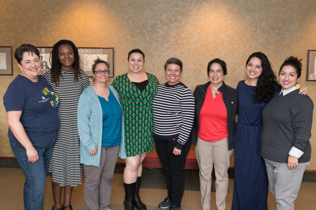Women of Color event planning committee