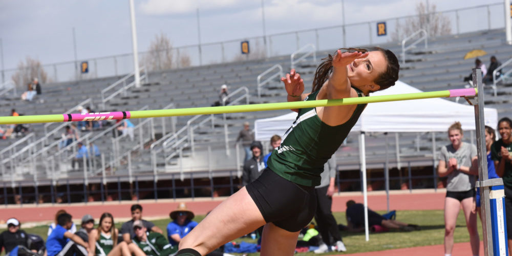 Autumn Gardner high jump