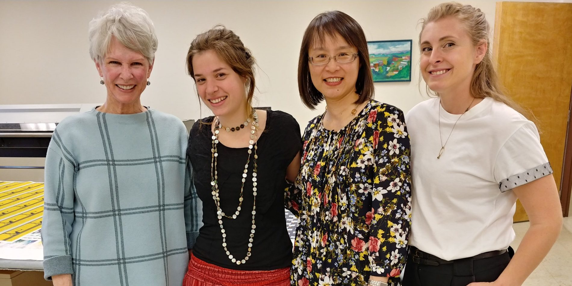 Diane Sparks, Nogal Seidemann, Terry Yan and Mary Swanson