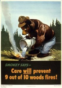 Smokey the Bear poster 1944