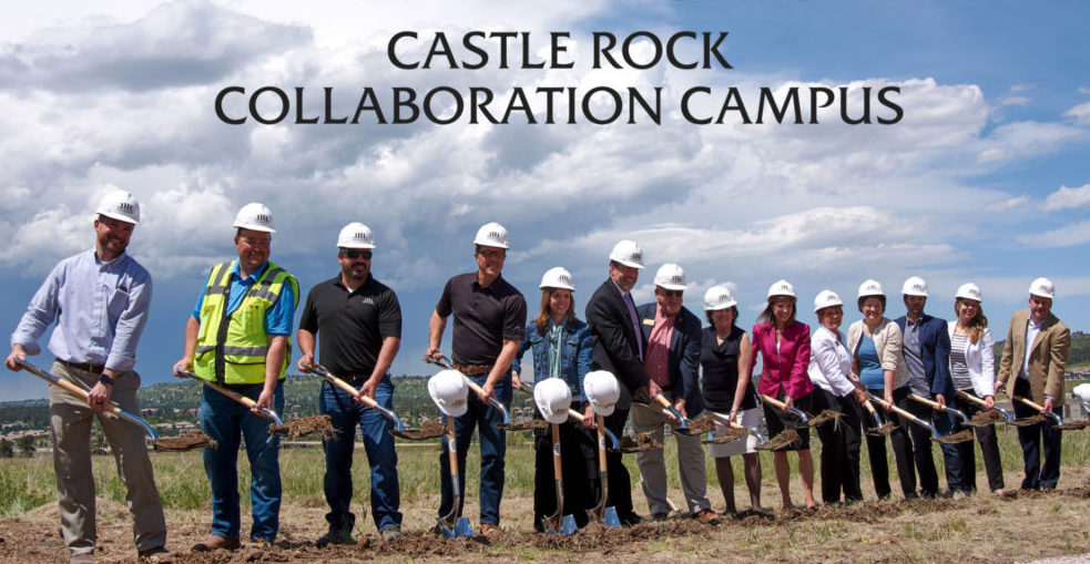 Arapahoe Community College Castle Rock Collaboration Campus groundbreaking
