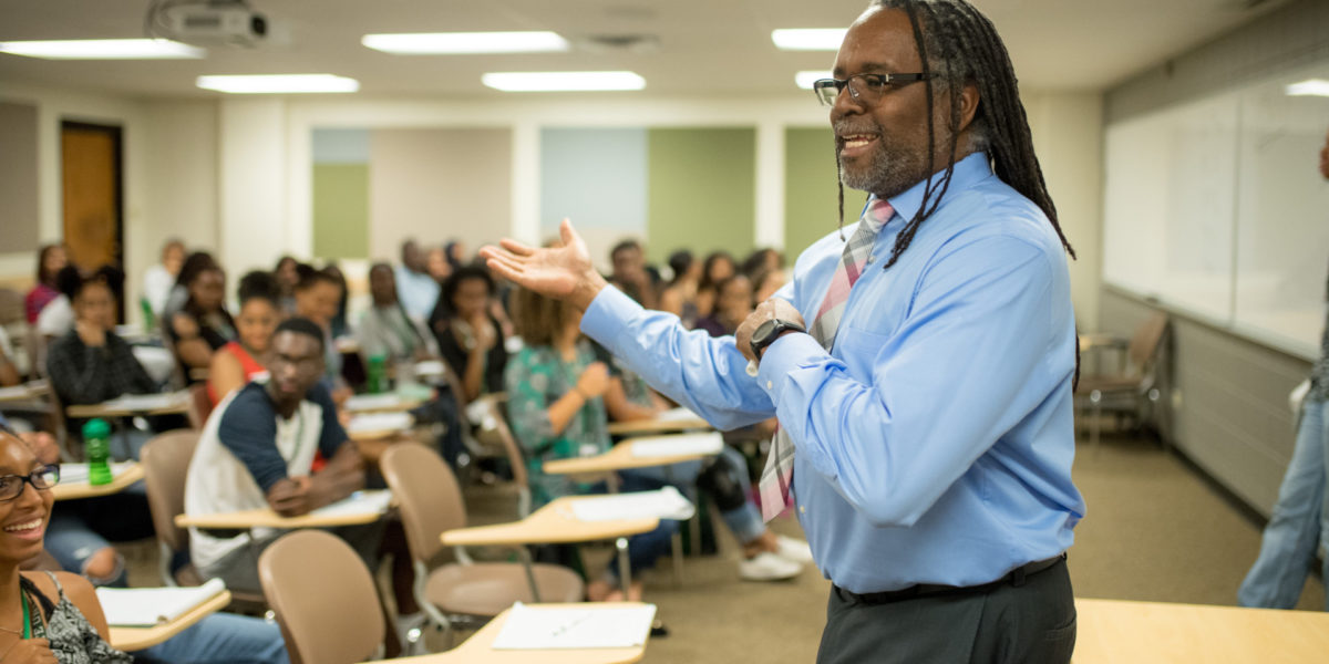 African-American seniors from across the country attend CSU's Black Issues Forum