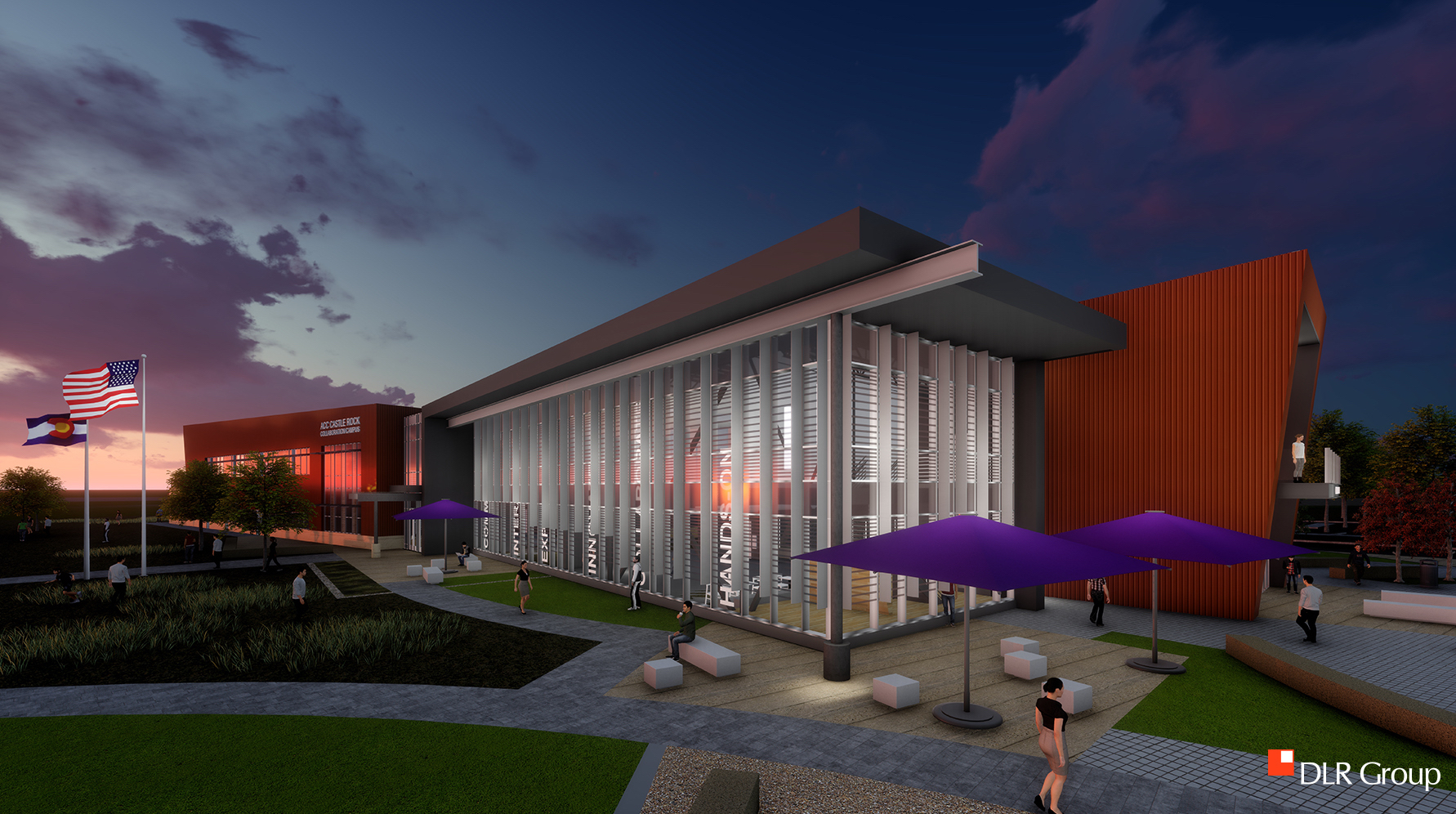 The alliance among ACC, Colorado State University, the Douglas County School District and the Town of Castle Rock creates the Sturm Collaboration Campus.