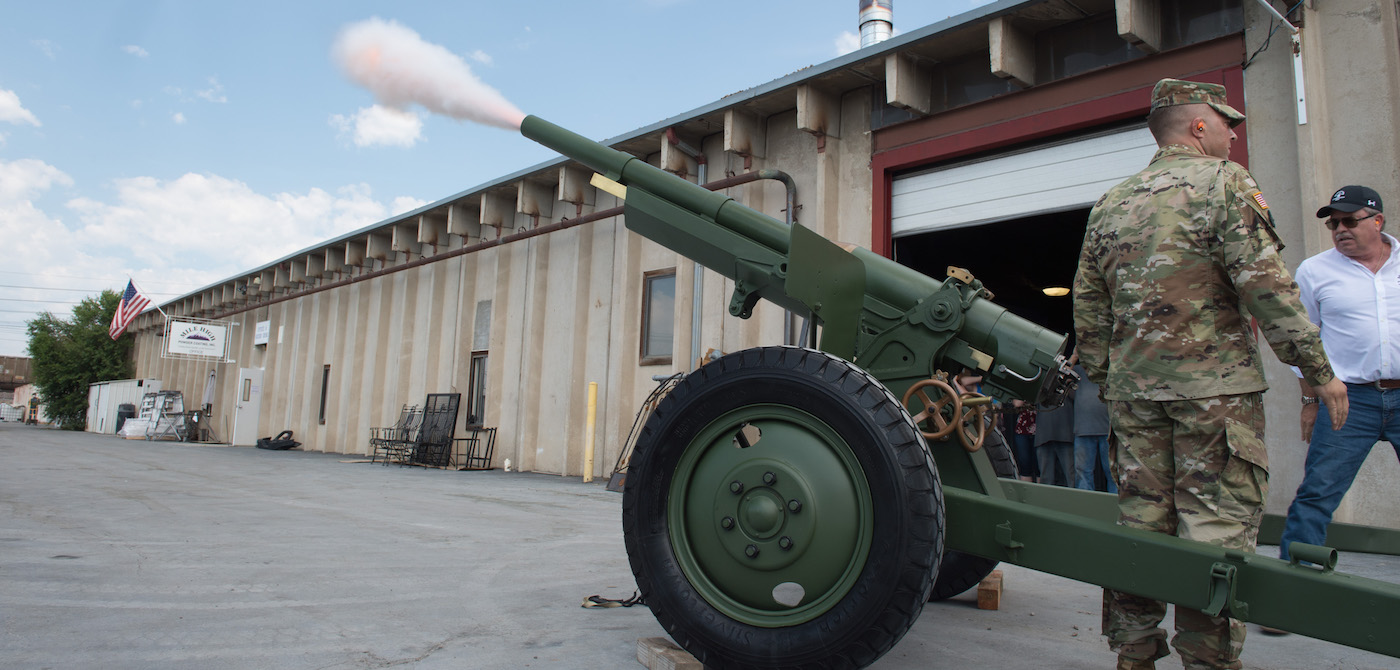 CSU's restored cannon