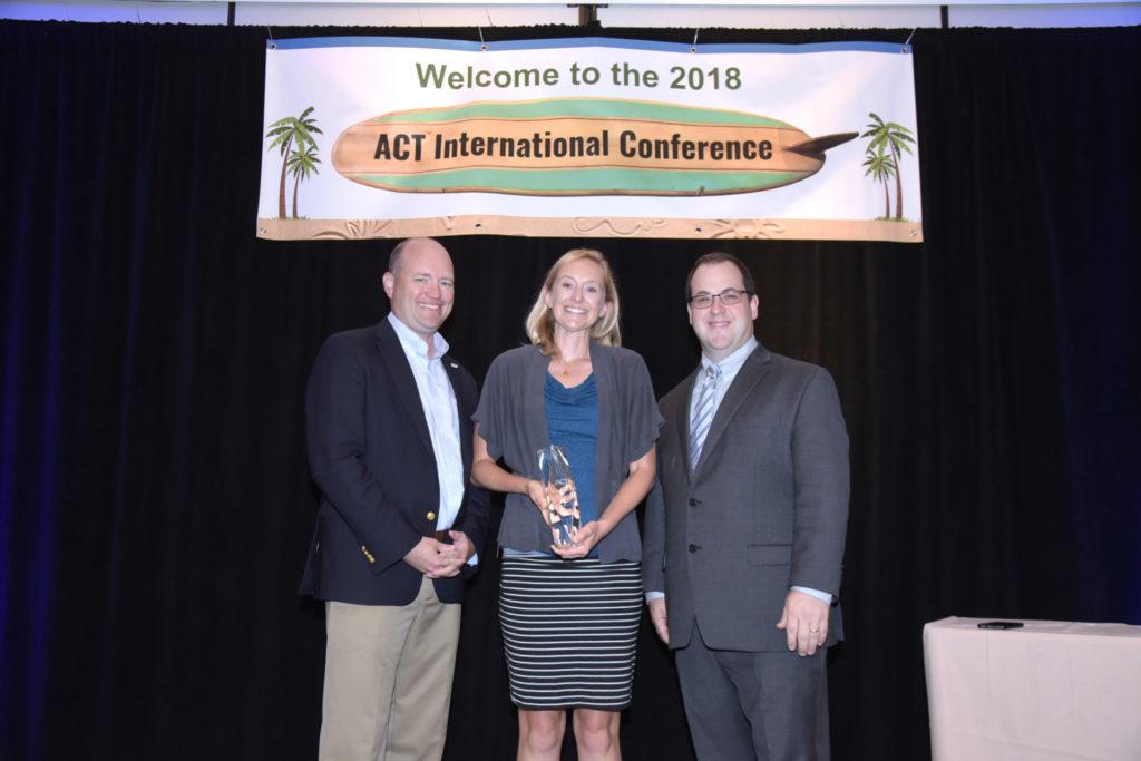 Benti receives ACT leadership award