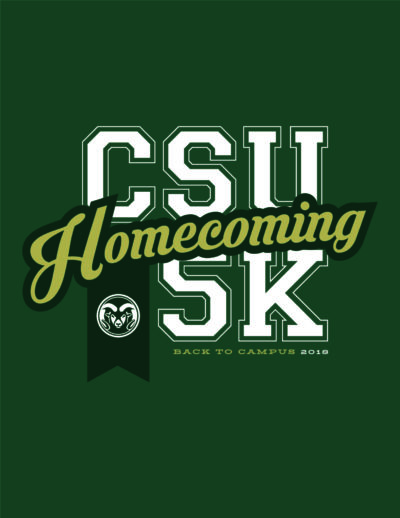 Homecoming 5K logo