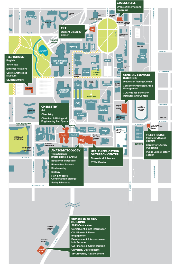 Move In 2018: New spaces map out changes in office, lab ... Map Out Locations on