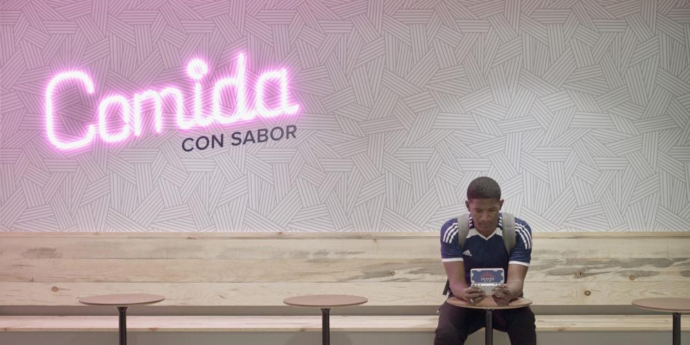 Student in Comida con Sabor