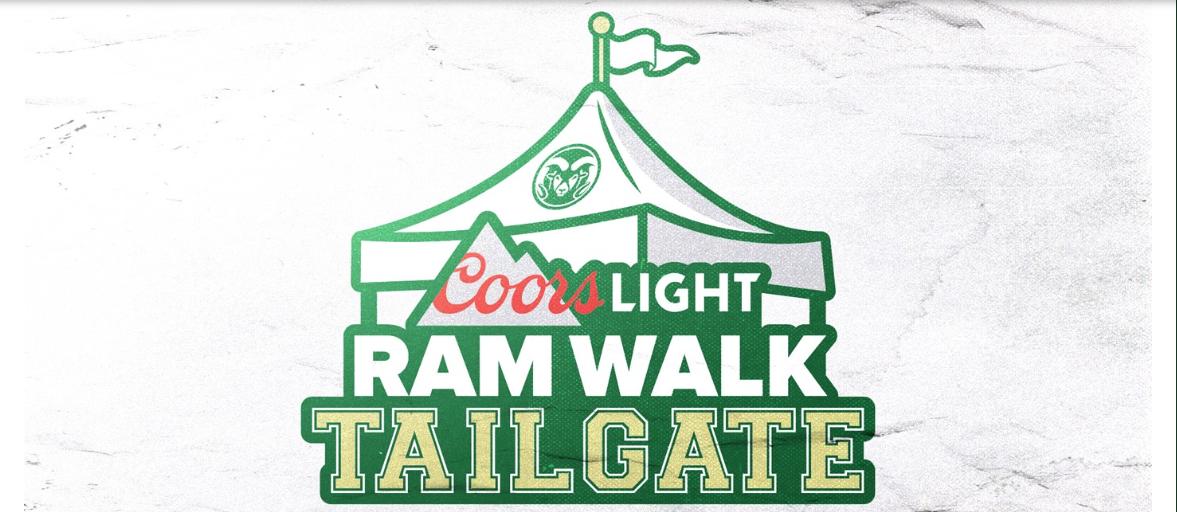 Coors Light Ram Walk tailgate