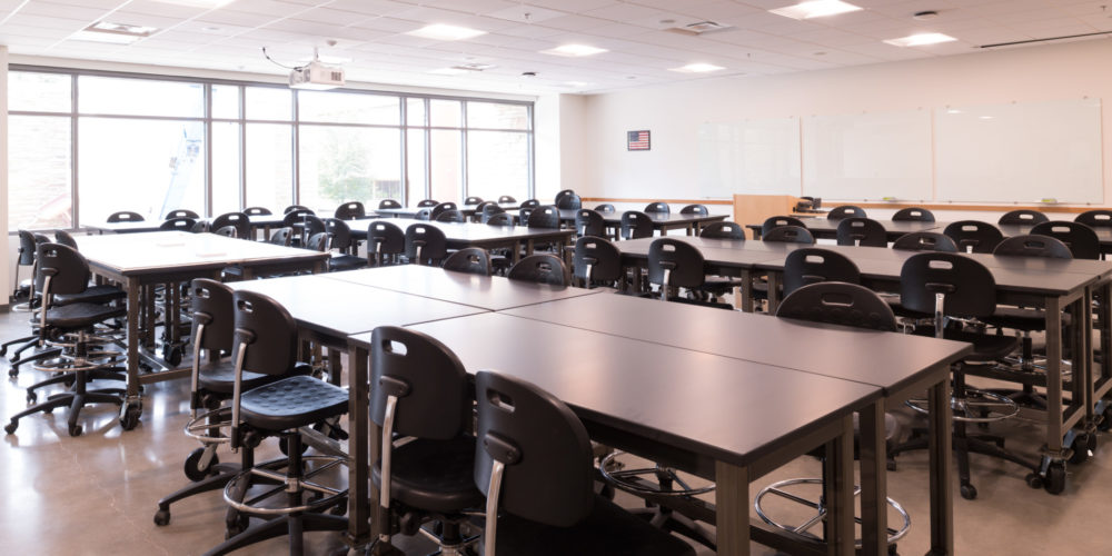 New classroom in Michael Smith Natural Resources Building