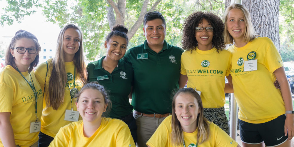Staff ready to help with move in 2018
